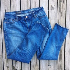 J. Crew Broken in Boyfriend Jeans